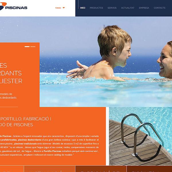 Descantia programaci n web a medida en el empord for Piscinas portillo